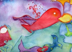 baleine-rouge-acquerello-rossella-pompeo-07