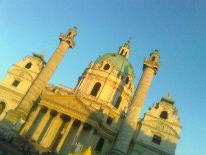 Wien, Karlsplatz, foto Rossella Pompeo